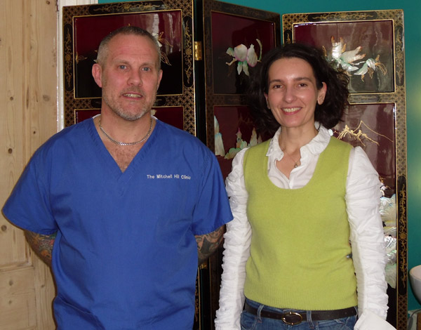 Cosmetic Acupuncture One-to-One Training Helen April 2012