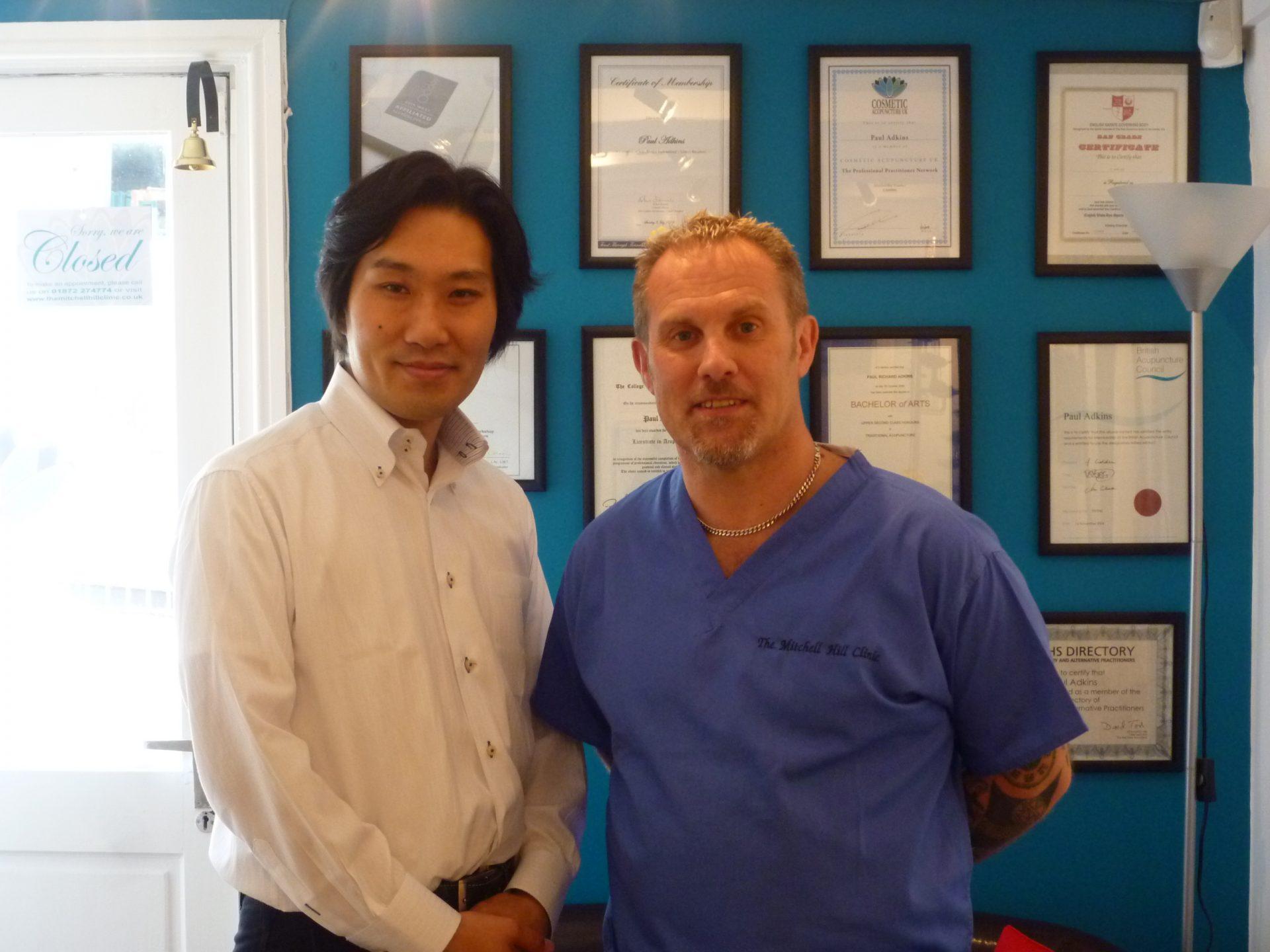 Paul Adkins and Takao Ueda 2010