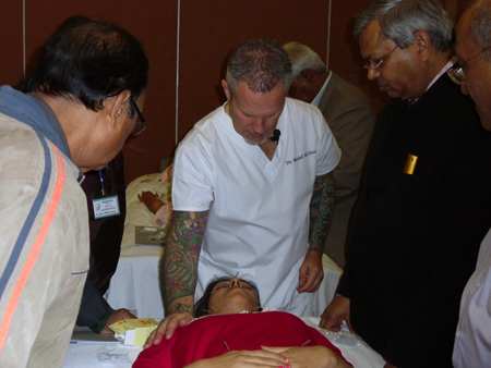 Cosmetic Acupuncture Conference India December 2012