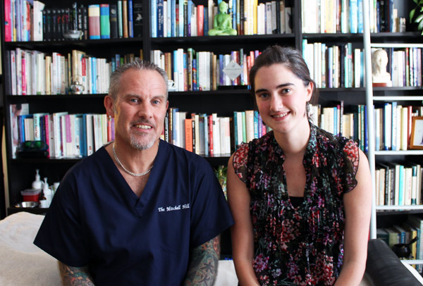 Paul and Cassie Cosmetic Acupuncture One-to-One September 2013