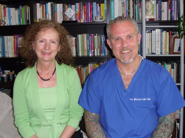 Paul Adkins and Catherine Markey Cosmetic Acupuncture Training