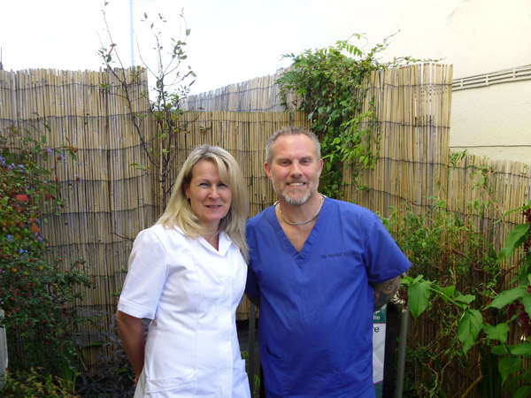 Paul and Jane September 2012 Facial Enhancement Acupuncture Training