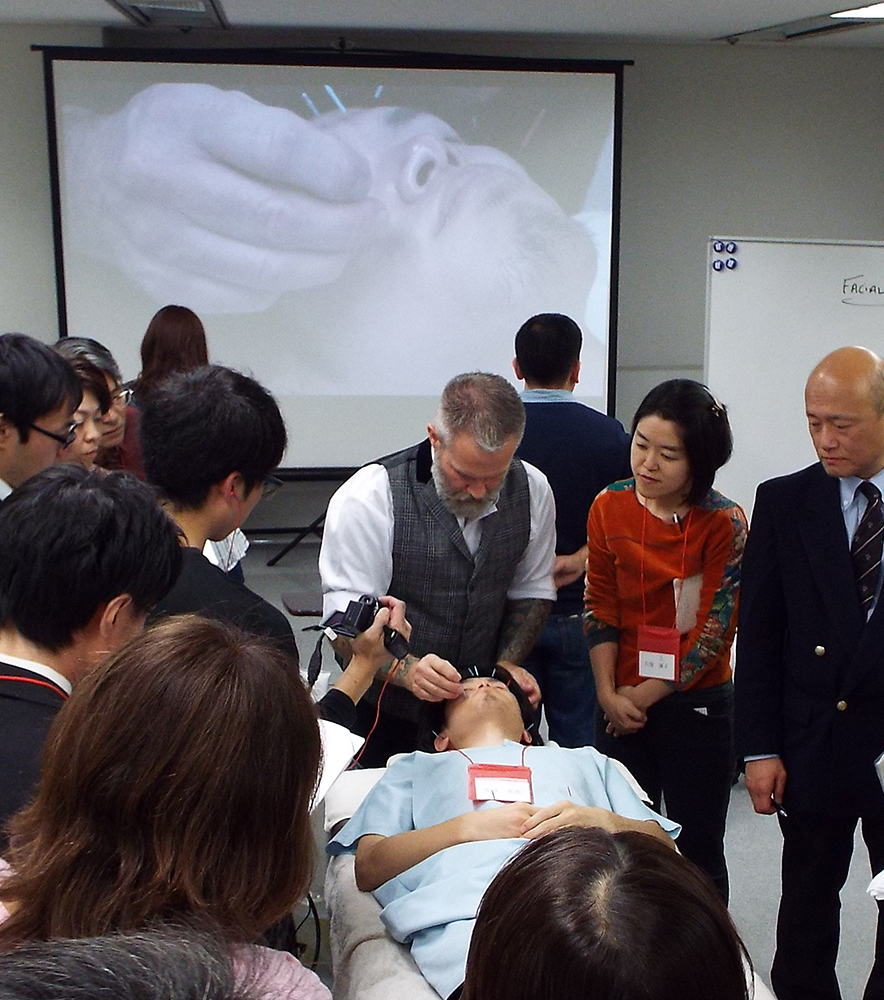 Japanese Cosmetic Acupuncture Workshop 2012